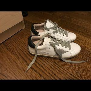 Golden goose sneakers size 36 never worn